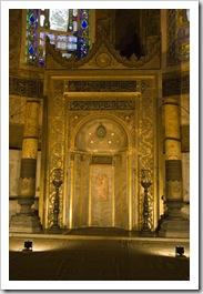 Mihrab in Aya Sofya