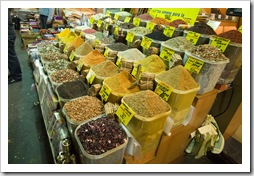 Spices in the Spice Bazaar