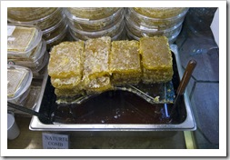 Beeswax and honey in the Spice Bazaar