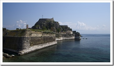 Palaio Frourio (Venetian fortress) in Kerkyra Town