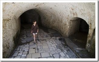 Lisa in Palaio Frourio (Venetian fortress) in Kerkyra Town