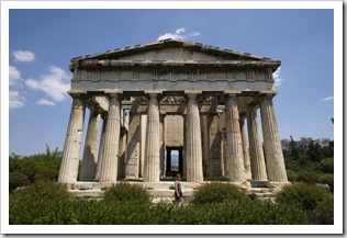 The Ancient Agora's Temple of Hephaestus