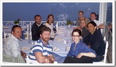 Dinner in Fira
