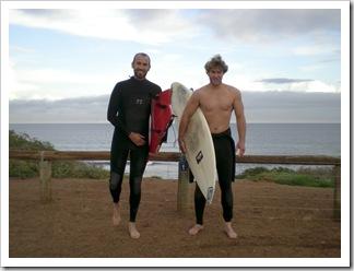 Sam and Todd at Triggs