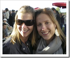 Lisa and Ali at the McLaren Vale Sea and Vines Festival