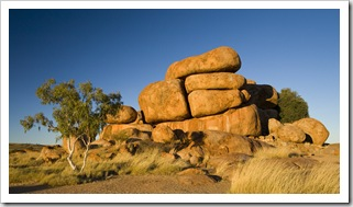The Devil's Marbles cheesewheels