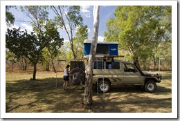 Our campsite in Nitmiluk National Park