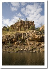 Katherine Gorge's first gorge