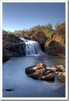 Leliyn's upper falls and swimming hole