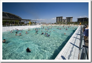 The Darwin wave pool