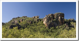 The Arnhem Land escarpment at Burrunggui