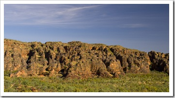 Beehive rock formations along the Jarnem loop walk