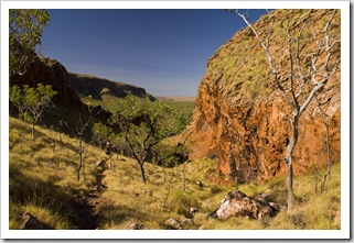 The Jarnem loop walk in Keep River National Park