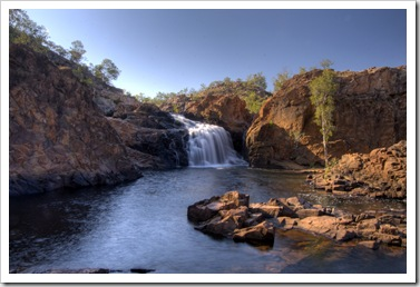 Leliyn's upper falls and swimming hole