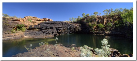 The swimming hole and plunge pool at Manning Falls