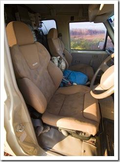 Pneumatic Recaro seats