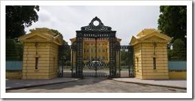 The Vietnamese president's residence