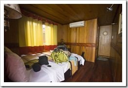 Our room on the junk at Halong Bay