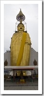 The Standing Buddha towering 45M over Wat Indraviharn