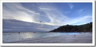 Sairee Beach sunset