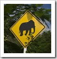 A road sign we typically wouldn't see in San Francisco...