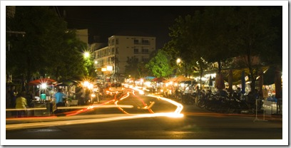 The night market near our hotel in Ao Patong where we ate on many nights whilst in Phuket