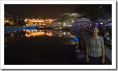 Lisa in Clarke Quay