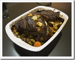 The unbelievable lamb roast that Richie had waiting for us on arrival from the airport