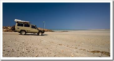 Sandy Beach at Cape Keraudren