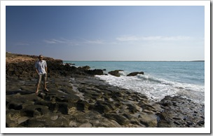 Sam at Cape Keraudren