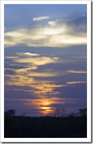 Sunrise at Cape Keraudren