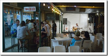 Music night at the pub at Ningaloo Reef Resort
