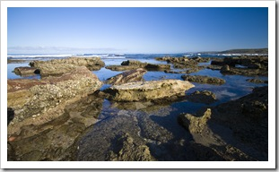 Tide pools in Kalbarri