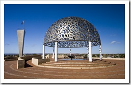 Memorial to the HMAS Sydney in Geraldton