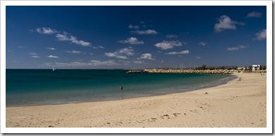 Town Beach in Geraldton