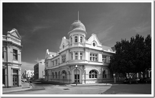 The beautiful historic buildings of Fremantle