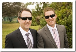 Jarrod and Stacey's Wedding: Matt and Owen