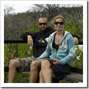Sam and Lisa and Cape Naturaliste