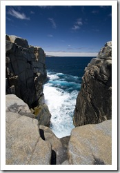 The Gap in Torndirrup National Park