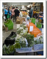 Fresh fruit and vegetables at the Boat Shed Markets