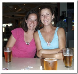 Saucy Gina and Lisa at the Torquay Hotel