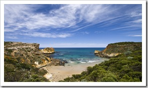 Childers Cove at the beginning of the Great Ocean Road