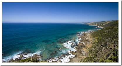 The Great Ocean Road from Cape Patton