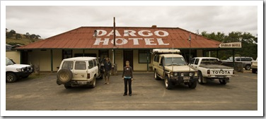 Back to civilization in Dargo