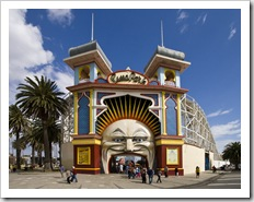 Lunar Park in Saint Kilda