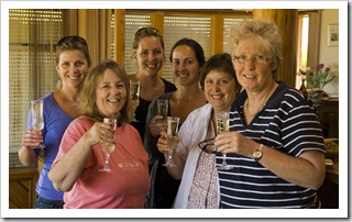The King Island ladies: Lisa, Sue, Linda, Jill, Carol and Dawn