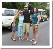 Lisa, Jenni, Sam and Gina as we were leaving Adelaide