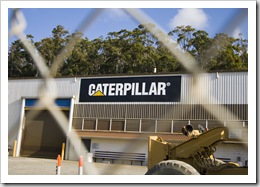 Caterpillar headquarters in Burnie