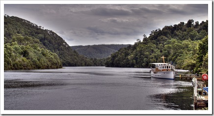 Arcadia II and the Pieman River