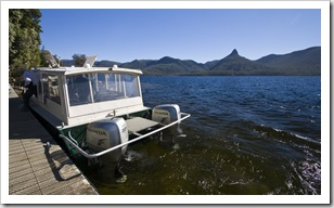Our transport across Lake Saint Clair